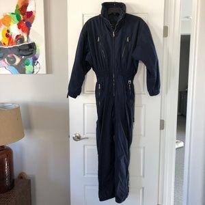 Vintage 90's Bogner Ski Snowboard Suit - Navy Blue